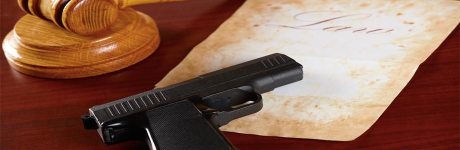 Gun in courtroom