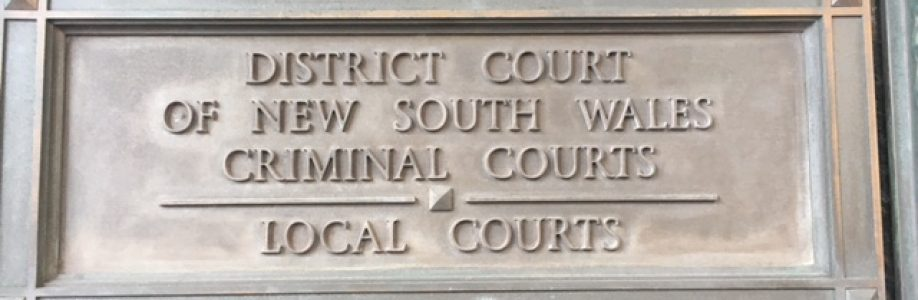 Criminal Courts pillar